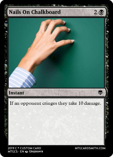Nails On Chalkboard by wyatt829829