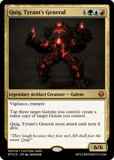 Quig, Tyrant's General