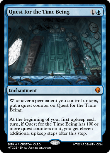 Quest for the Time Being