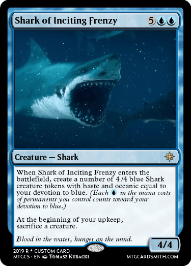 Shark of Inciting Frenzy