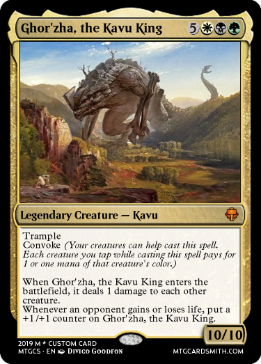 Ghor'zha, the Kavu King