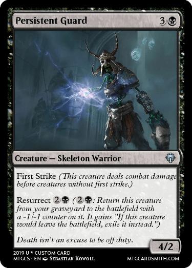 Persistent Guard