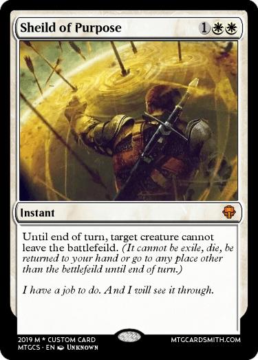 Shield of Purpose
