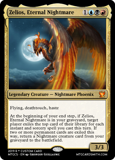 Zelios, Eternal Nightmare
