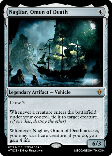 Naglfar, Omen of Death