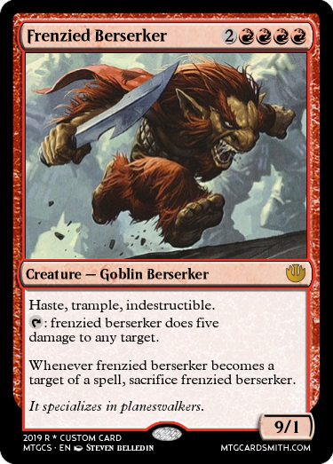 Frenzied Berserker