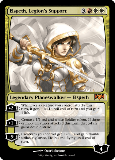 Elspeth, Legion's Support
