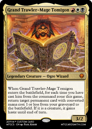 Grand Trawler-Mage Tomigon