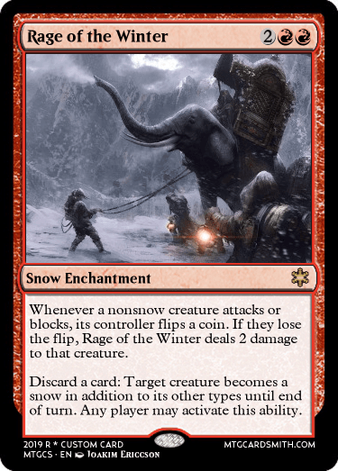 Rage of the Winter