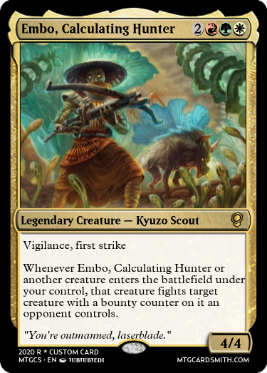 Embo, Calculating Hunter
