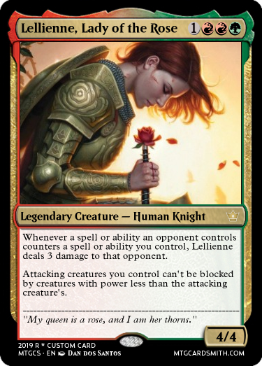 Lellienne, Lady of the Rose