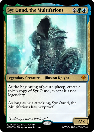 Syr Ound, the Multifarious