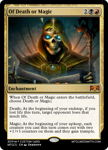 Of Death or Magic