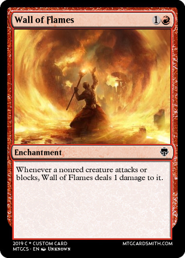 Wall of Flames