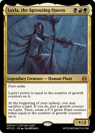 Layla, the Sprouting Queen