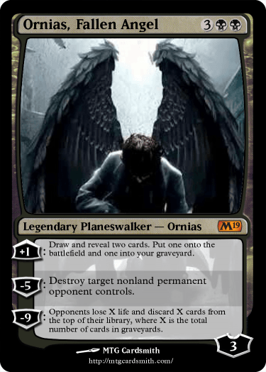 Ornias, Fallen Angel