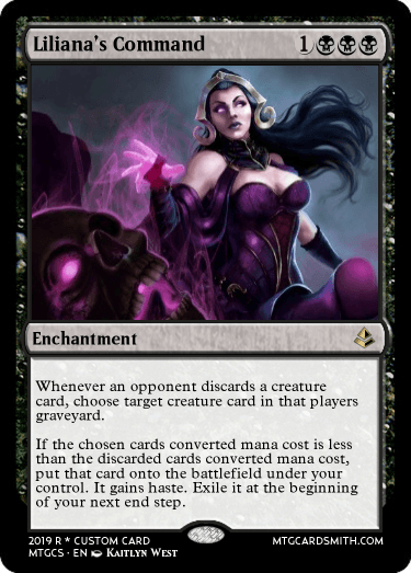 Liliana's Command