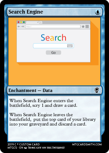 Search Engine by Fortnerfirst | MTG Cardsmith