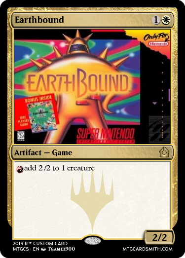 Earthbound by Tgamez900 | MTG Cardsmith