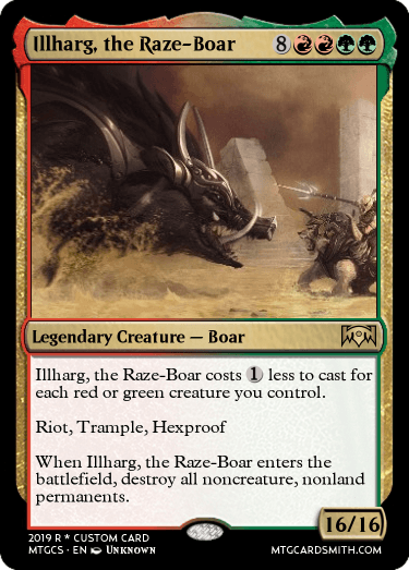 Illharg, the Raze-Boar