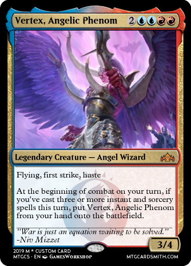 Vertex, Angelic Phenom