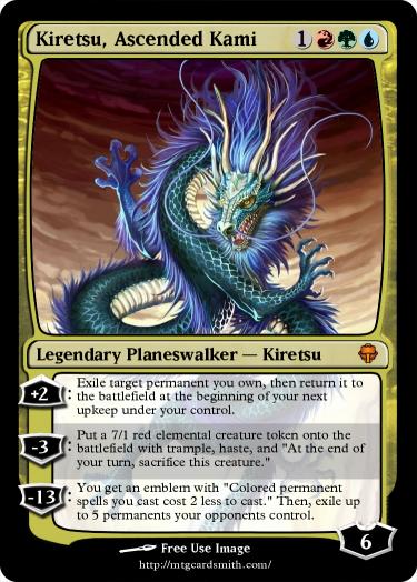 Kiretsu, Ascended Kami by DragonsApprentice | MTG Cardsmith
