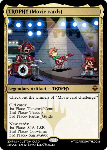 TROPHY (Movie cards)