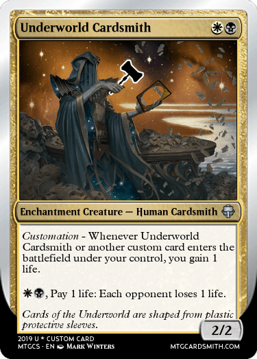 Underworld Cardsmith