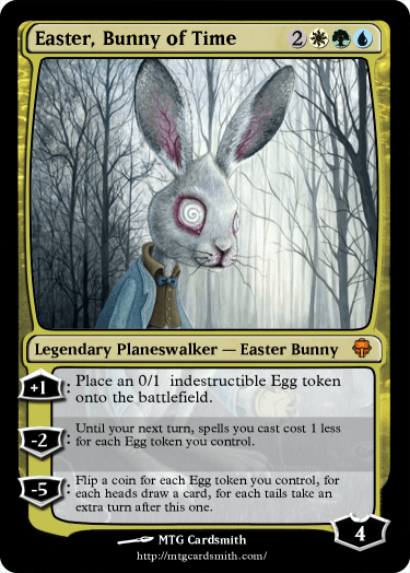 Easter, Bunny of Time