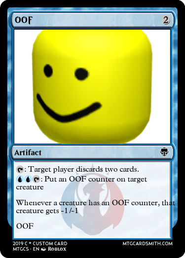 OOF by Infinity | MTG Cardsmith