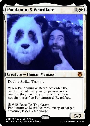 Pandamun & Beardface | MTG Cardsmith