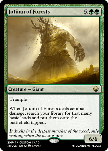 Jotünn of Forests
