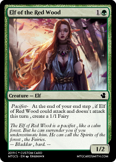 Elf of the Red Wood