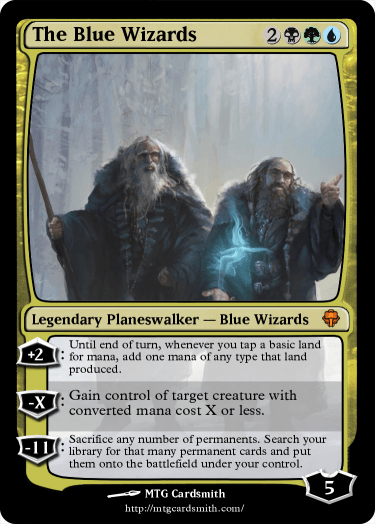 The Blue Wizards