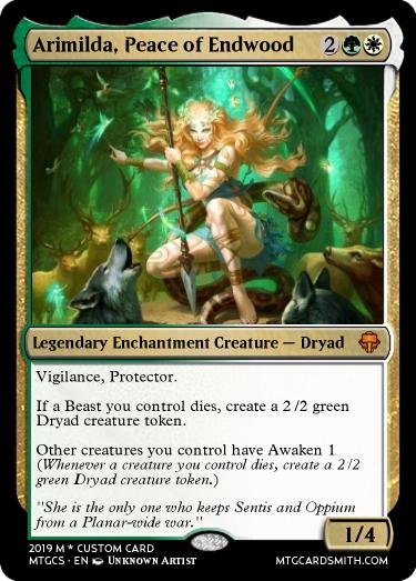 Arimilda, Peace of Endwood