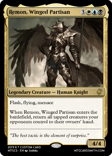 Remon, Winged Partisan