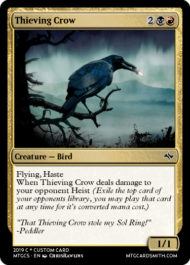 Thieving Crow