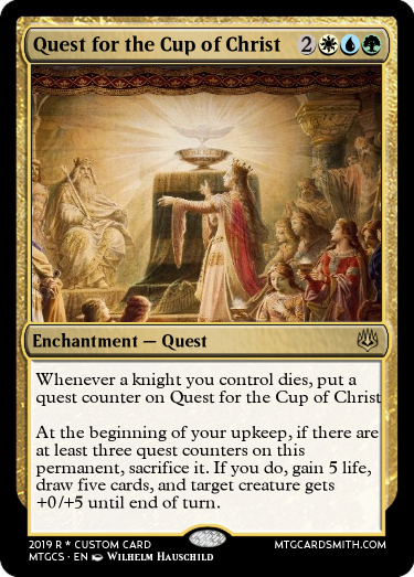 Quest for the Cup of Christ
