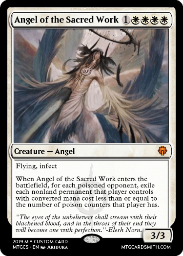 Angel of the Sacred Work