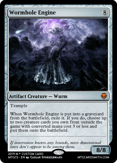 Wormhole Engine
