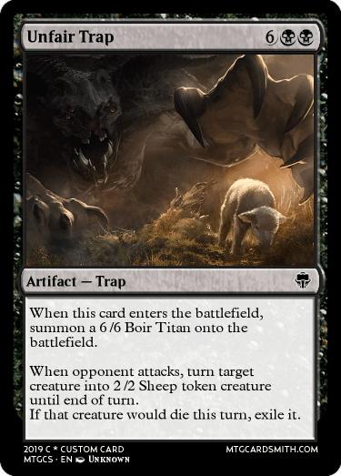 Unfair Trap