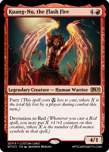 Kuang-Nu, the Flash Fire