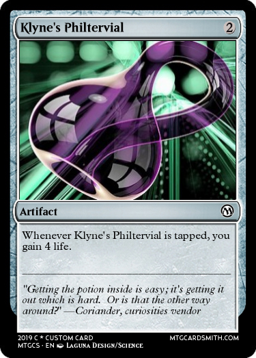 Klyne's Philtervial