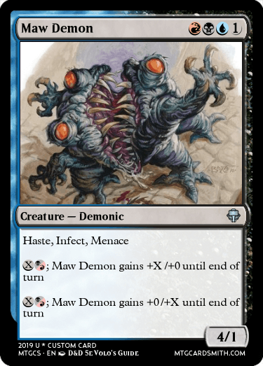 Maw Demon by Raylord1298 | MTG Cardsmith