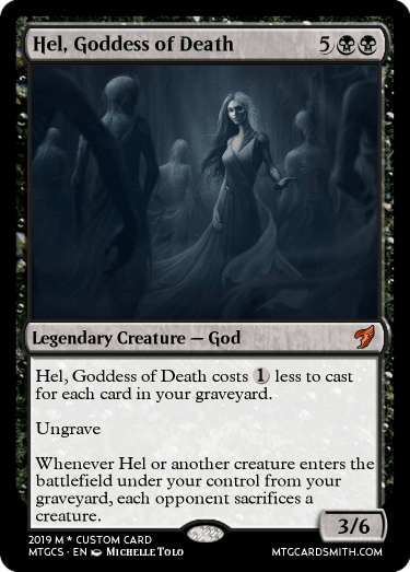 Hel, Goddess of Death