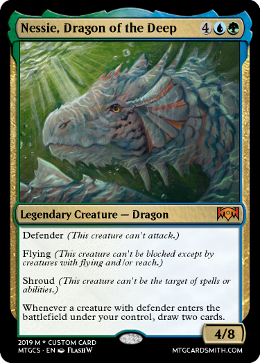 Nessie, Dragon of the Deep