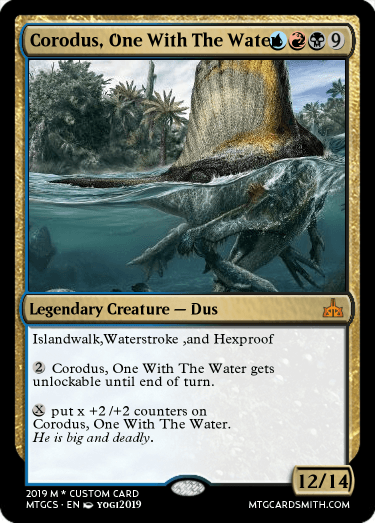 Corodus, One With The Water