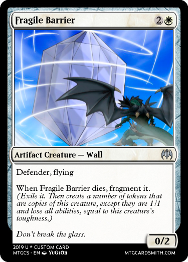 Fragile Barrier