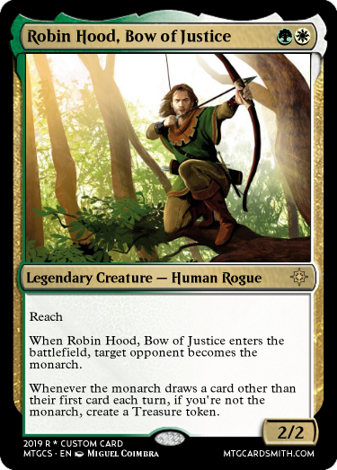 Robin Hood, Bow of Justice