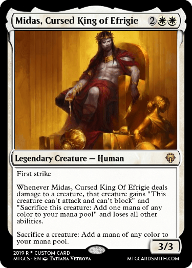 Midas, Cursed King of Efrigie